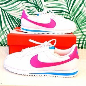 Nike Cortez White Pink